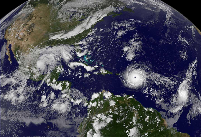 Ураган Мария обрушился на Пуэрто-Рико