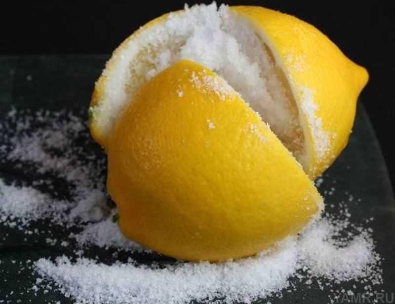 Лимон может оказаться альтернативой пищевой соли