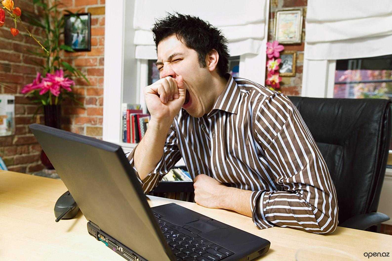 Почему человек зевает ?