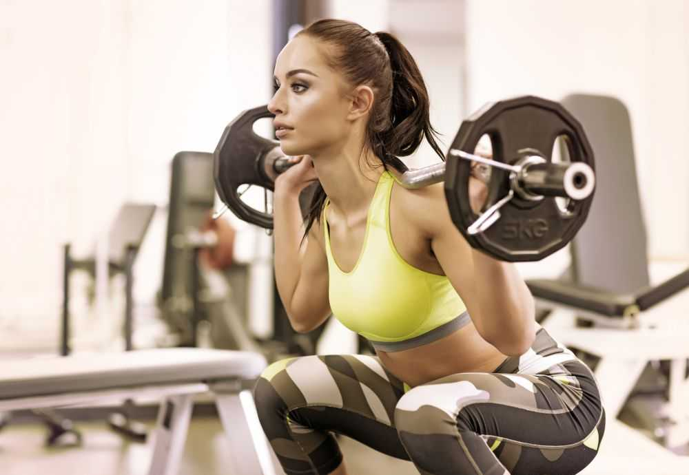 Занятие фитнесом