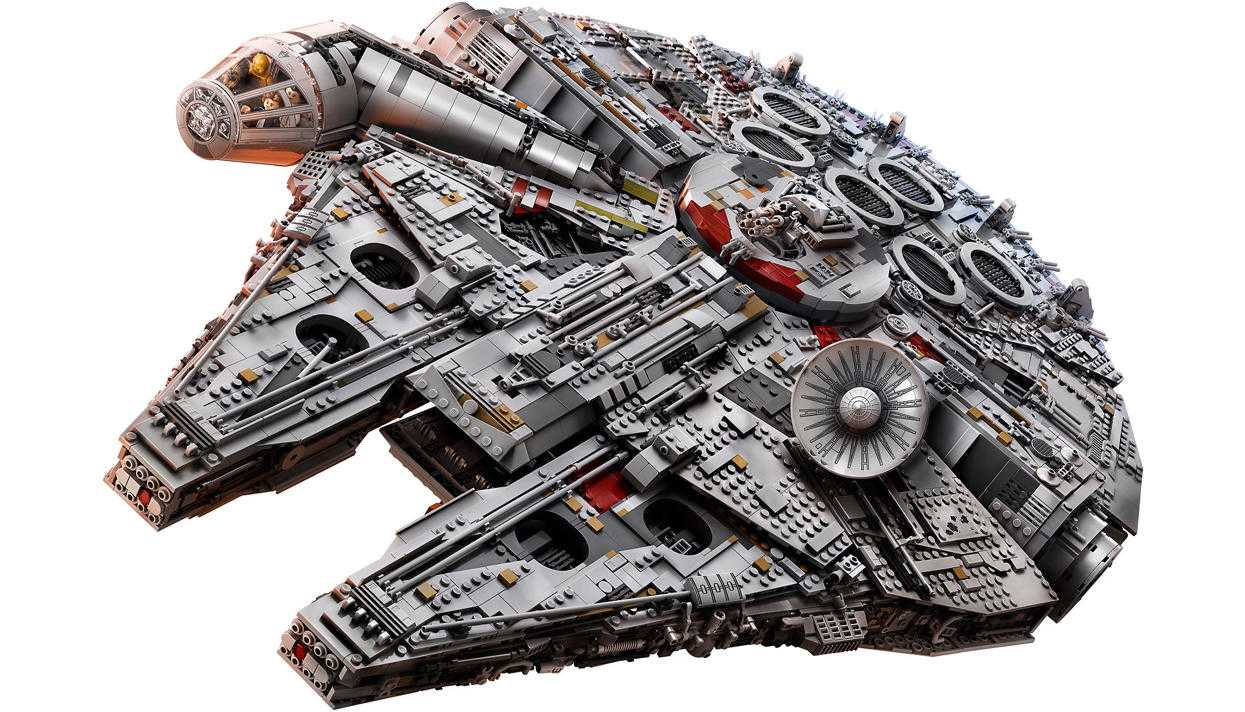 Самый большой конструктор от Lego