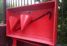 Почему пожарное ведро имеет форму конуса?