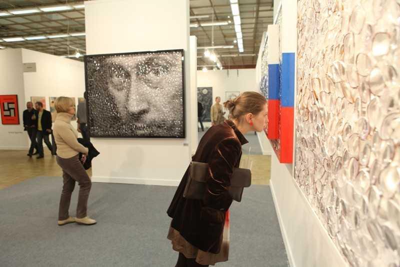 "Картина ""Путин - Мона Лиза"""