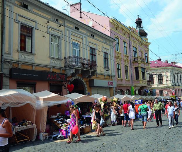 улица Черновцы