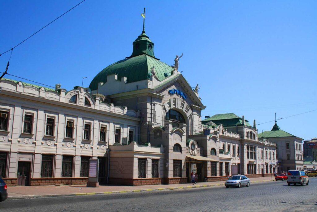 Черновцы, вокзал